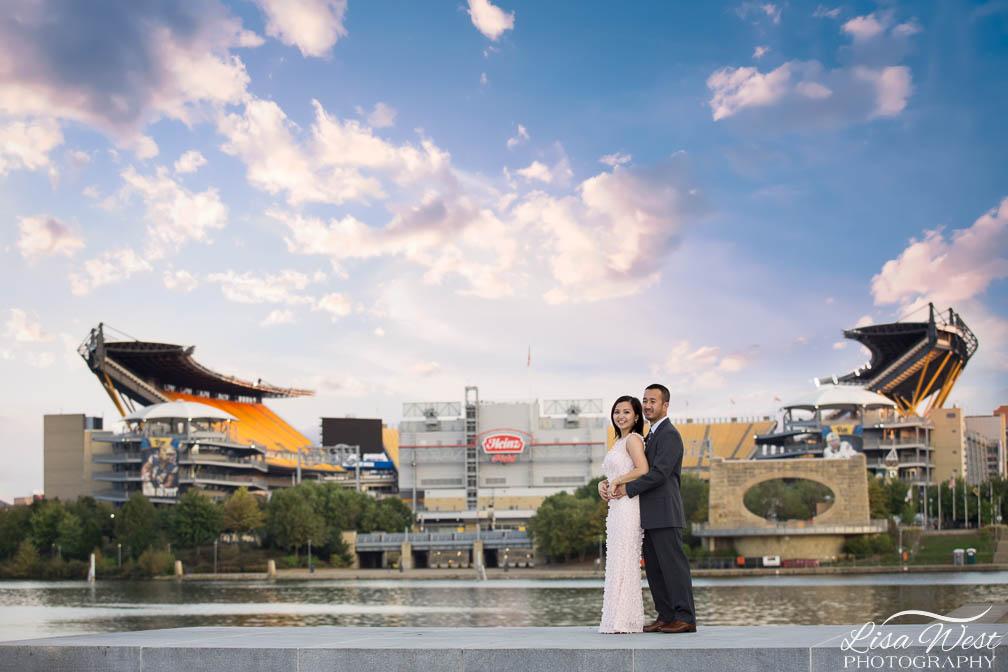 Pittsburgh Engagement Photographers Lisa West Photography